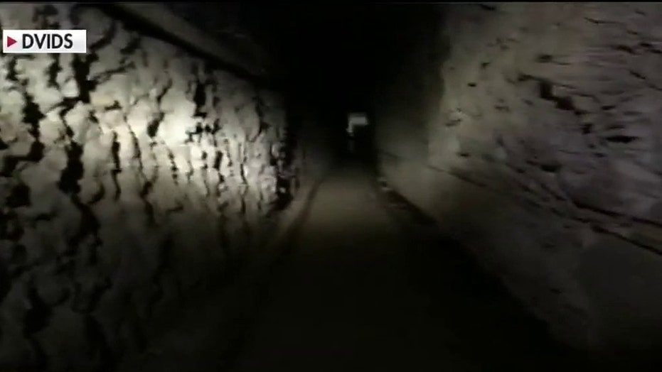 Border officials share details of smuggling tunnel