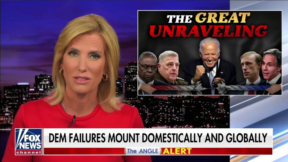 Ingraham: Biden's Afghan crisis continues Democrats' 'great unraveling' of America