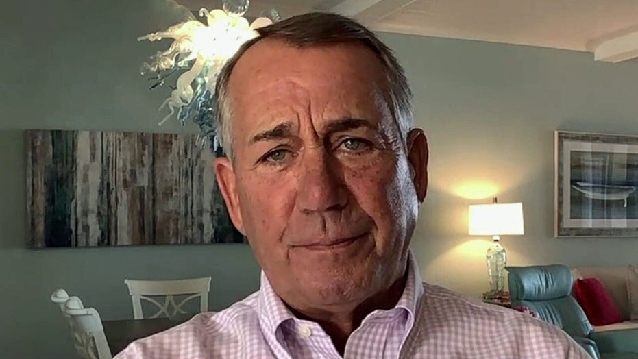 Boehner on 'Fox & Friends': Biden infrastructure bill a 'new word for the Green New Deal'