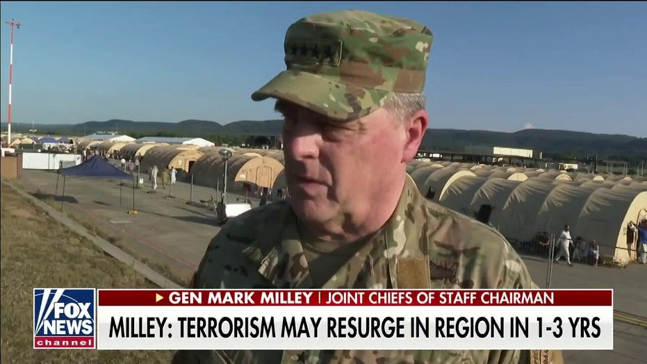 Milley says civil war in Afghanistan 'likely' after US withdrawal, could lead to 'reconstitution of al Qaeda'