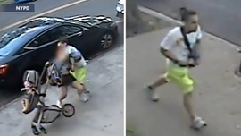 NYPD searches for man in attack on woman pushing baby in stroller
