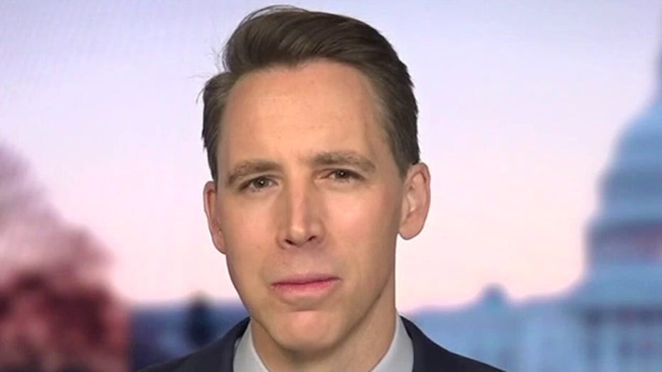 Josh Hawley: Biden is 'Mr. Unity' but if you disagree with him you are a 'Neanderthal'