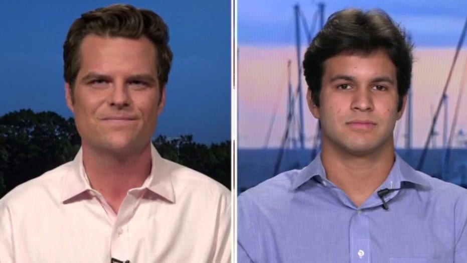 Rep. Gaetz reveals adopted son after argument with Democratic colleague