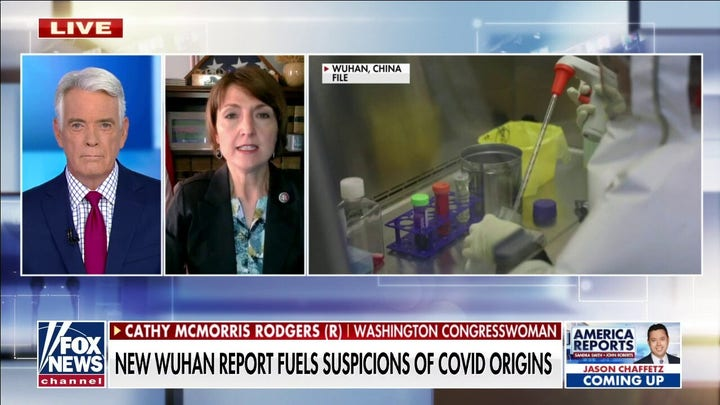 GOP Rep Rodgers says 'circumstantial clues' point to potential Wuhan lab COVID origin