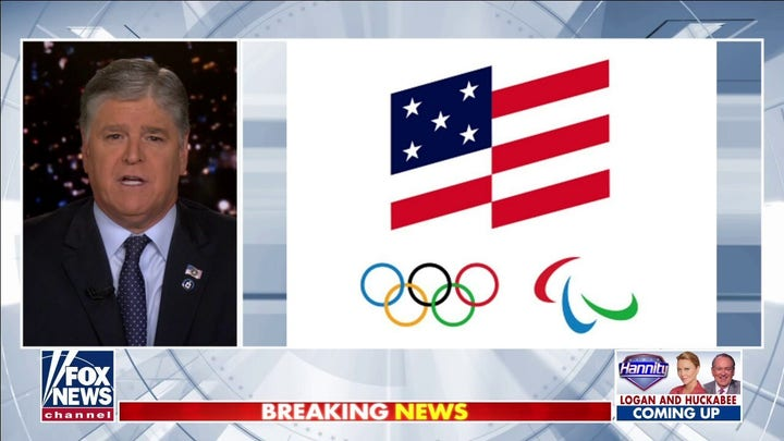 Hannity blasts US Olympic Committee's potential American flag redesign