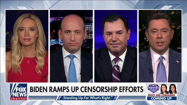 Former Trump White House officials slam Biden Administration pushing Facebook to censor content