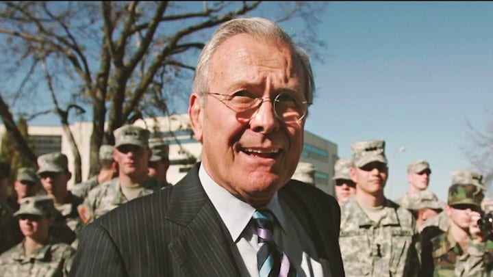 The Life and Legacy of Donald Rumsfeld on 'Special Report'
