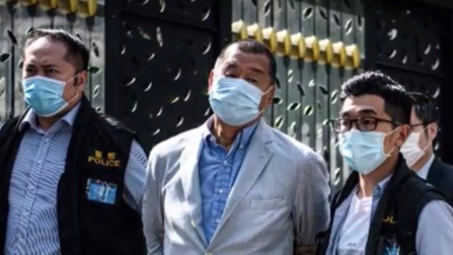 Outspoken pro-democracy media tycoon Jimmy Lai arrested