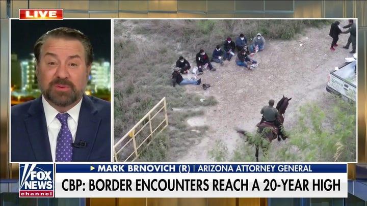 CBP: Border encounters reach a 20-year high