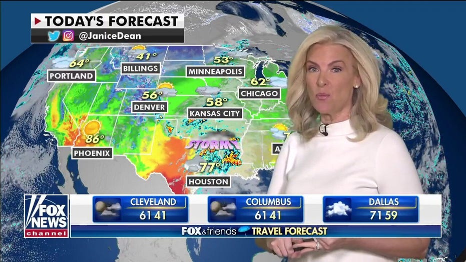 National weather forecast: Severe weather expected in South