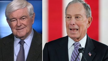 Gingrich on Bloomberg's dramatic rise to the Democrat debate stage