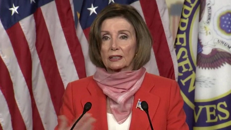 Nancy Pelosi rips controversial comments by President Trump