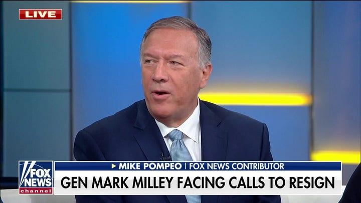 迈克·庞培: General Milley will need to be held accountable for the phone calls to China