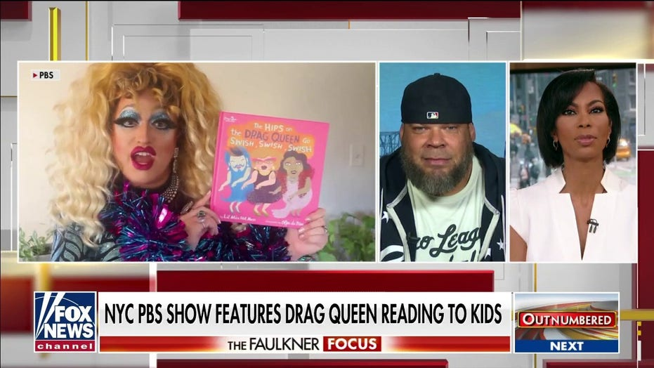 Tyrus criticizes PBS children show featuring drag queen reading to kids