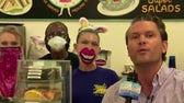 Pete Hegseth digs in at Dots Diner in Jefferson, LA for 'Breakfast with Friends'