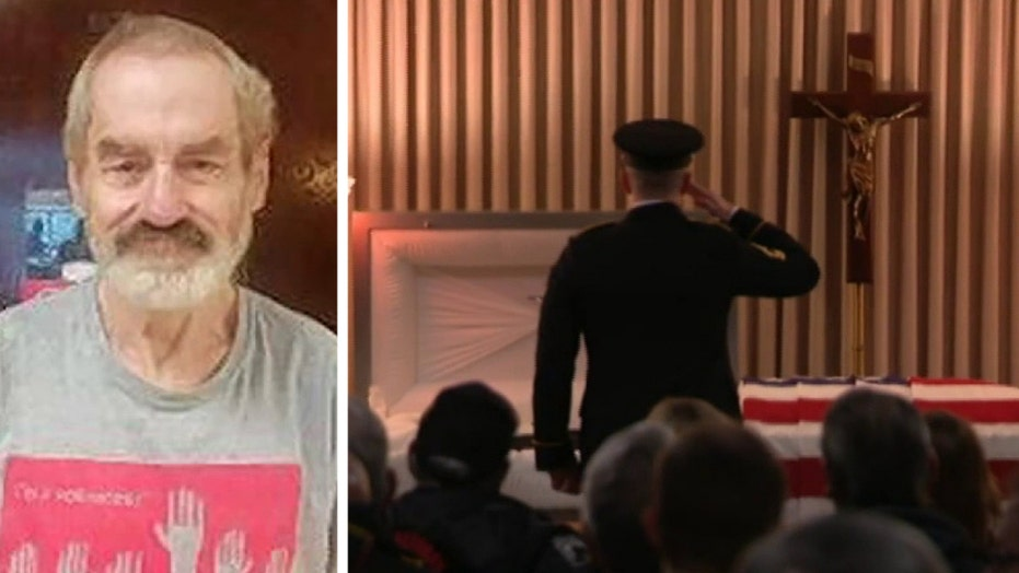 Hundreds attend funeral for US Air Force veteran with no known family