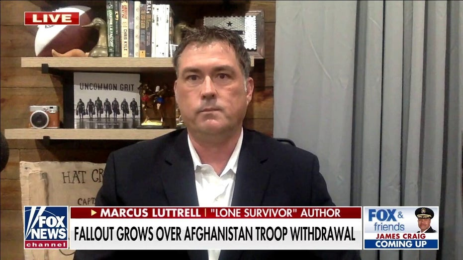 Marcus Luttrell's message to Biden on Afghanistan: 'You need to go get our people'