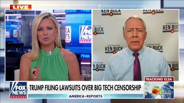 Big Tech censorship is coming for liberals next: Ken Buck
