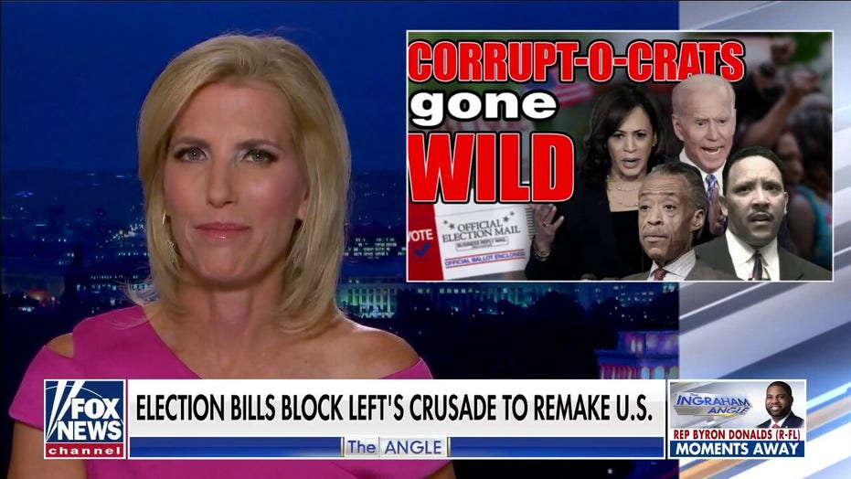 Ingraham: It's 'Corrupticrats Gone Wild' as Sharpton reemerges to inflame election law takeover 'activism'