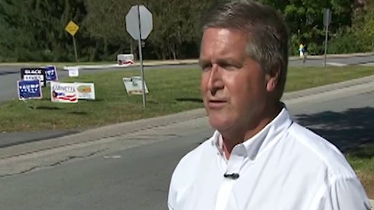 Election battleground Pennsylvania sees vandalism, sign-stealing