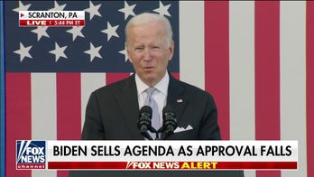 'The Five' on President Biden's approval number sinking