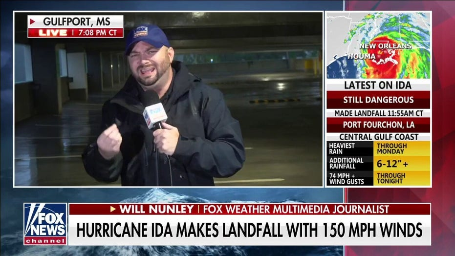 Hurricane Ida knocks out power to entire city of New Orleans, officials say