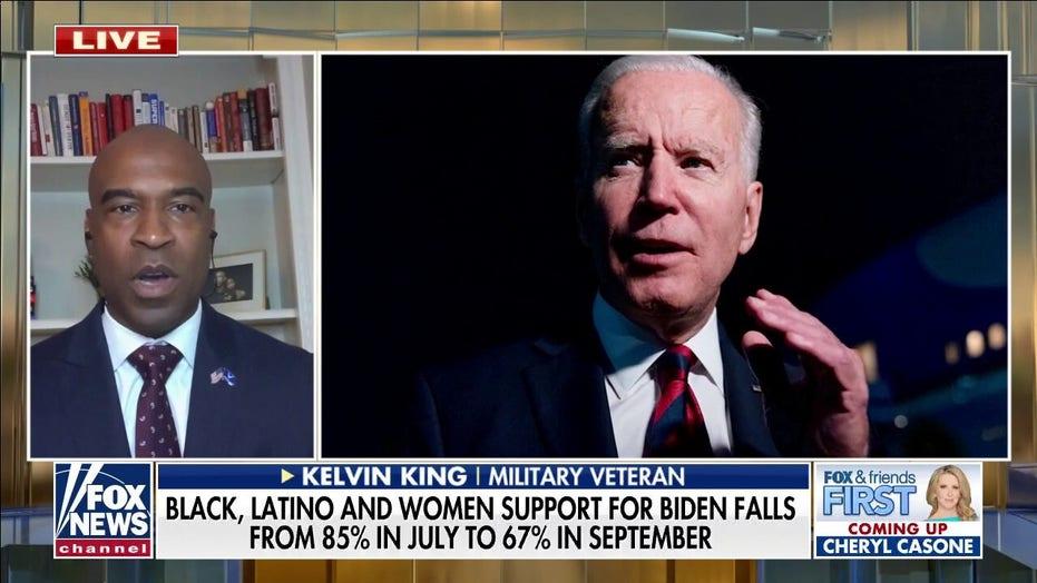 Military veteran on 'Fox & Friends First': Black community has 'buyer's remorse' over Biden's failures