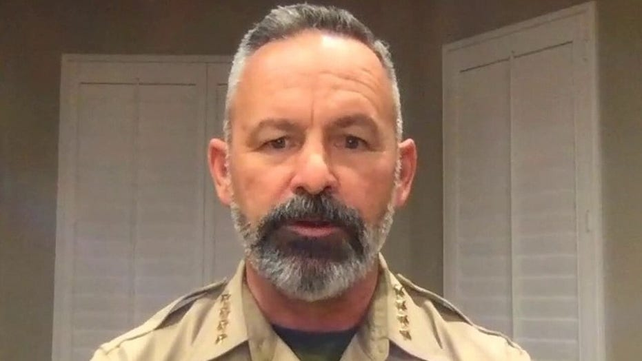 Riverside County Sheriff Chad Bianco says 'locking businesses down makes absolutely no sense'