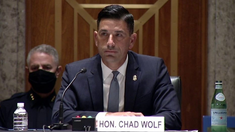 Acting Homeland Security Secretary Chad Wolf testifies on federal agents deployed to protests