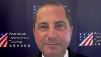 HHS Sec. Azar accuses China of 'hobbling' COVID-19 response, calls Taiwan a 'model of transparency'