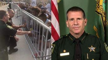Florida Sheriff John Mina discusses taking a knee with demonstrators