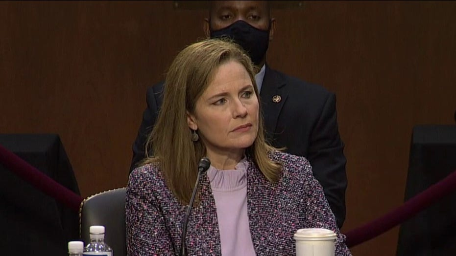 Amy Coney Barrett's first case as Supreme Court justice could be one that decides presidential election