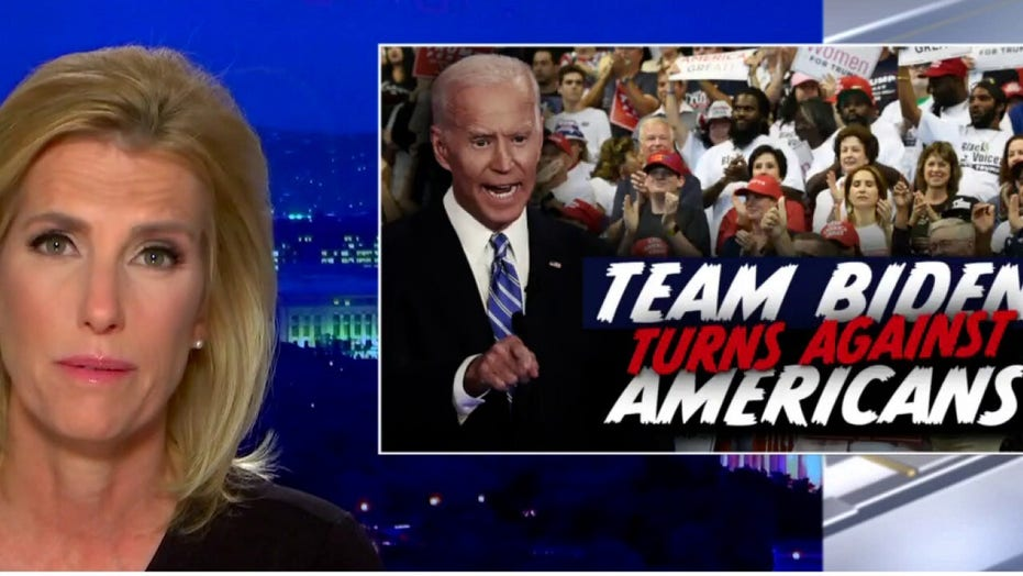 Laura Ingraham blasts Biden administration, Democrats who 'fear the GOP far more than they fear the CCP'