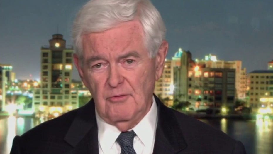 Newt Gingrich: After Afghanistan debacle, Biden 'can't possibly protect' Taiwan