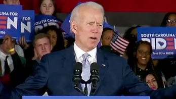 Biden wins big in South Carolina primary, in crucial boost for struggling campaign