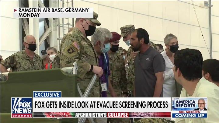 Exclusive: FOX gets inside look at Afghanistan evacuee screening process