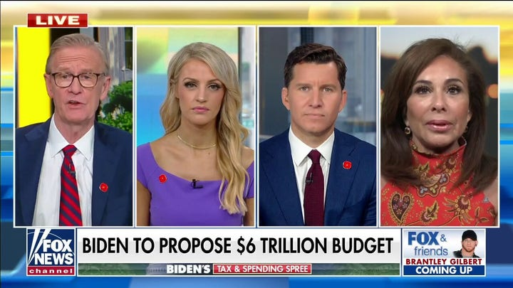 Regter Pirro: Biden infrastructure plan is a 'social services safety net' for illegal immigrants
