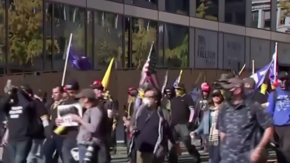 'MAGA March' attendee says left-wing counter-protesters 'got very violent very quickly'