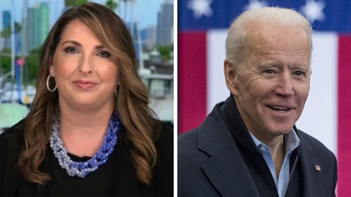 RNC chair says most Americans want the Bidens' ties to Ukraine investigated