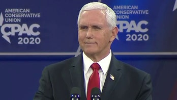 Pence rallies CPAC crowd for 2020 Trump reelection: 'Freedom works. Socialism doesn't'