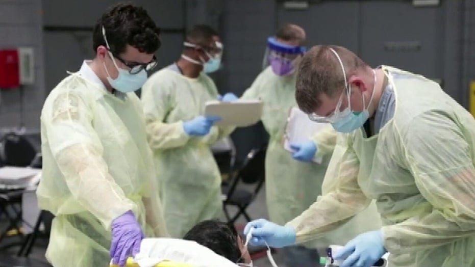 Coronavirus crisis raises concern about PTSD for frontline workers