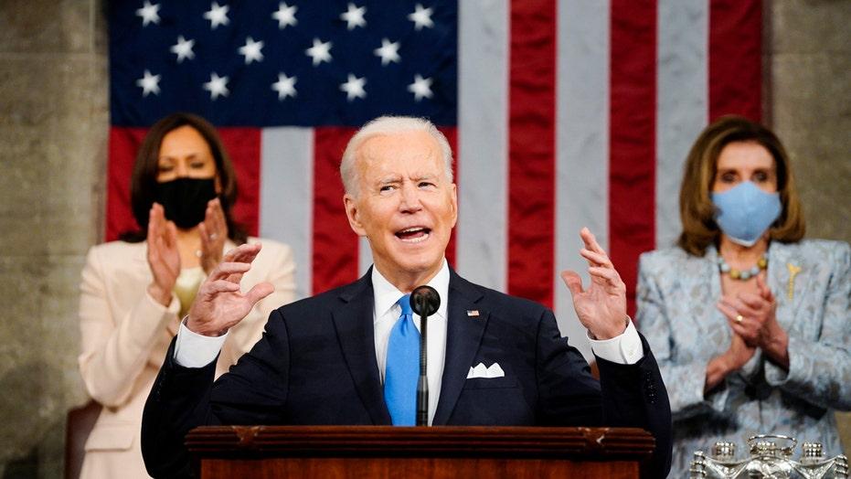 Biden's bipartisan bid: President fist bumps Cheney