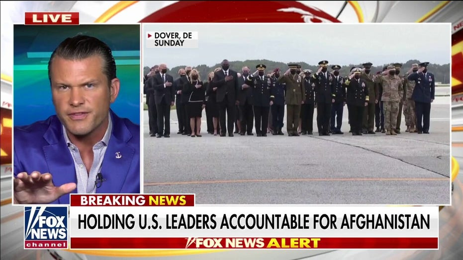 Pete Hegseth rips Biden for checking watch, calls out 'betrayal' of US military mission