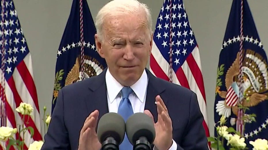 Biden to urge Americans to 'stay vigilant' amid COVID threat as he pushes federal workers to get vaccinated