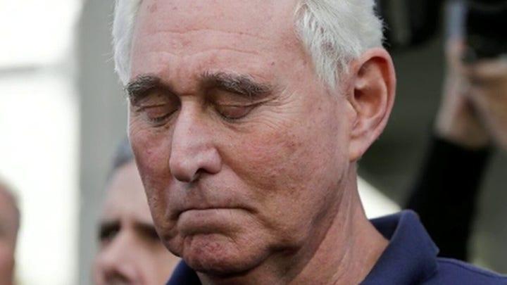 DOJ overrules suggested sentence for Roger Stone