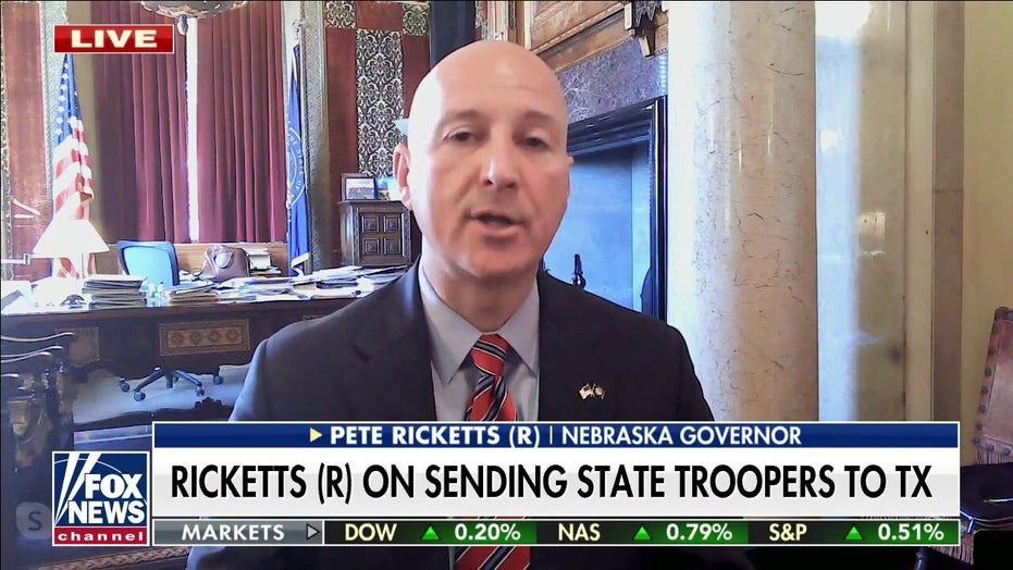 Nebraska Gov. Ricketts sending police to Texas because Biden is 'failing so miserably' at southern border