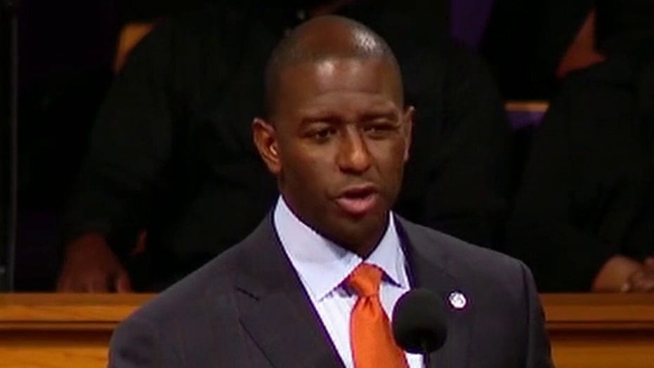 Andrew Gillum found by police in hotel room with man allegedly overdosing on meth