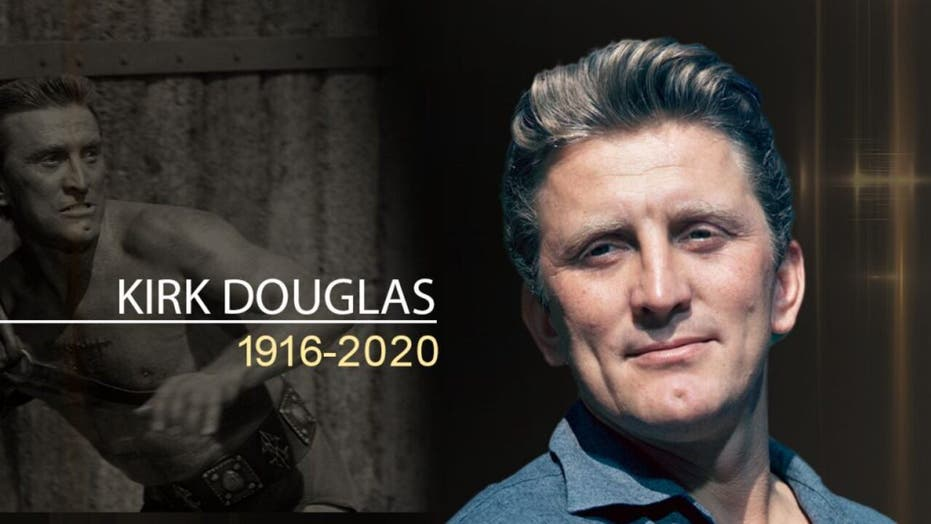Kirk Douglas, actor and Hollywood legend, dead at 103, family says