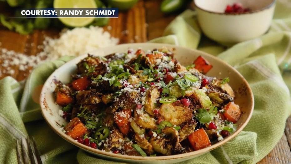 Celebrity chef Aaron Sanchez shares signature holiday side dish recipe
