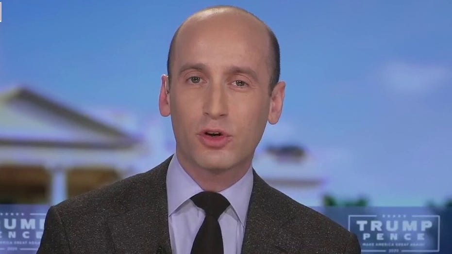 White House's Stephen Miller warns of 'nationwide catch and release' if Biden is elected